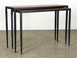 SET OF 2 CONSOLE TABLES MANNER FRANK