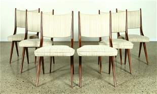 6 DINING CHAIRS C. 1950 MANNER OF KAGAN