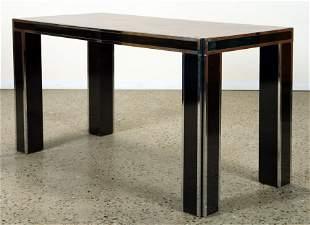 WALNUT DINING TABLE MANNER PAUL EVANS C.1970
