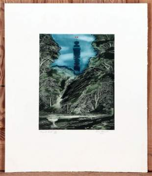 TEN SIGNED MODERN LITHOGRAPHS AND ETCHINGS