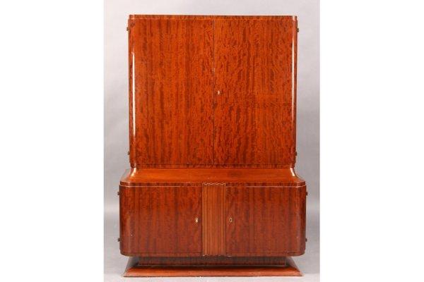 20: ART DECO 4 DOOR CABINET C. 1940