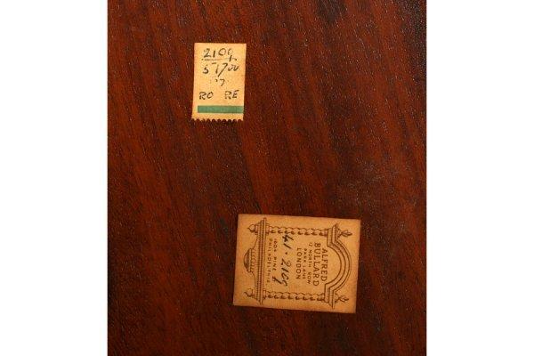 562: ANTIQUE ENGLISH MAHOGANY BUTLER TRAY COFFEE TABLE - 8
