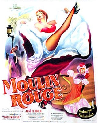 50081009: MOULIN ROUGE FRENCH AFFICHE.