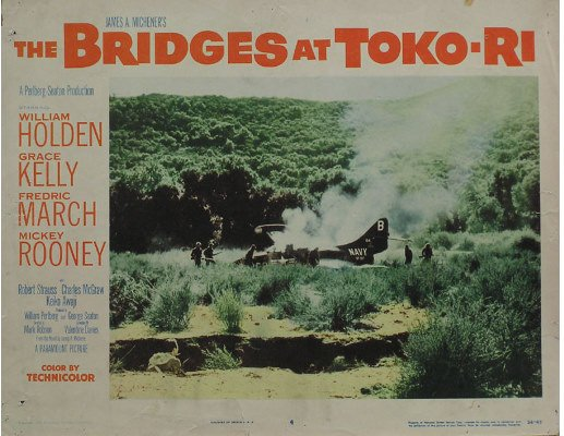 50081013: 9 LOBBY CARDS INCLUDING THE BRIDGES AT TOKO-R