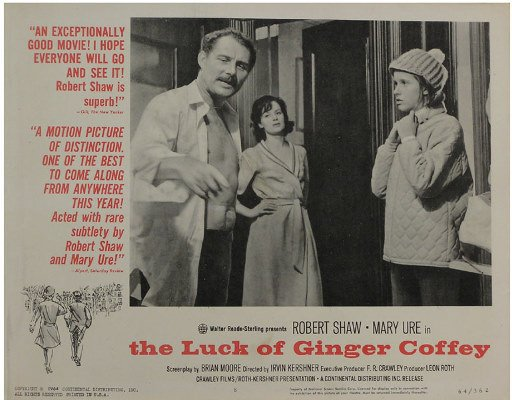50081017: 9 LOBBY CARDS INCLUDING THE LUCK OF GINGER CO