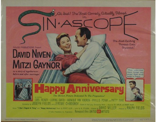 50081020: 12 LOBBY CARDS INCLUDING HAPPY ANNIVERSARY.