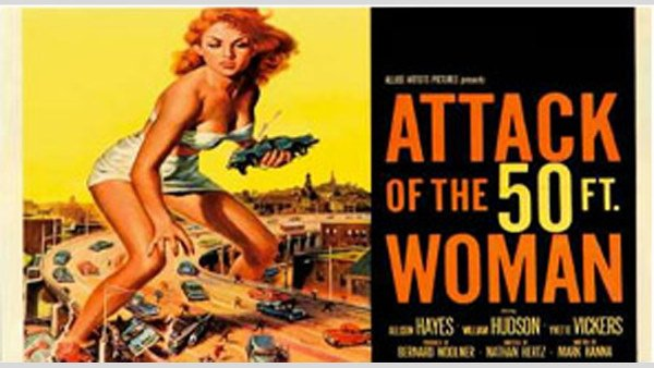 50081086: ATTACK OF THE FIFTY FOOT WOMAN [FRAMED].