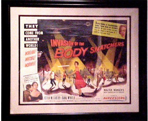 50081108: INVASION OF THE BODY SNATCHERS [FRAMED] [RARE