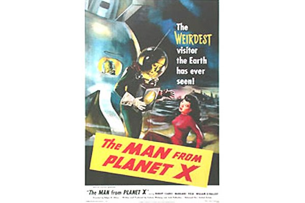 50081133: MAN FROM PLANET X ON LINEN ONE SHEET.