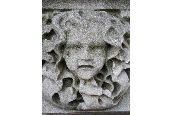 66: ANTIQUE CARVED LIMESTONE GARGOYLE ARCHITECTURAL - 5