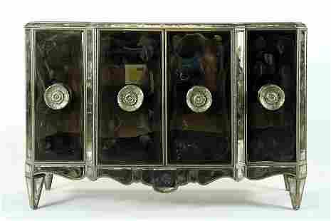 VENETIAN STYLE MIRRORED CABINET MANNER ROCHE C1960