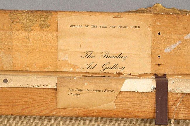 191: J. KUGLER SIGNED GERMAN OIL PAINTING SIGNED - 7