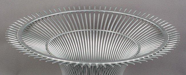 420: WARREN PLATNER WIRE DINING TABLE BASE C.1960 - 2