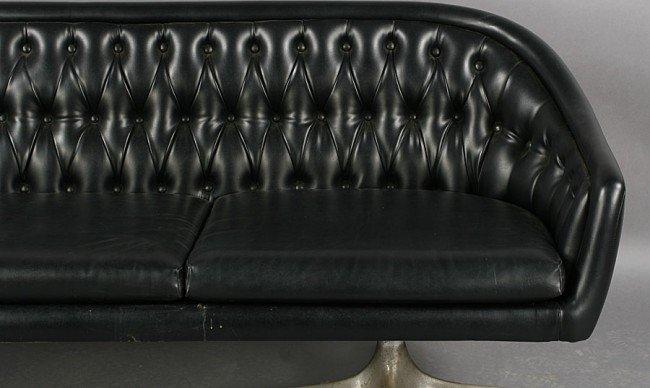 422: MID CENT MODERN CHROMCRAFT SOFA C.1950 - 4