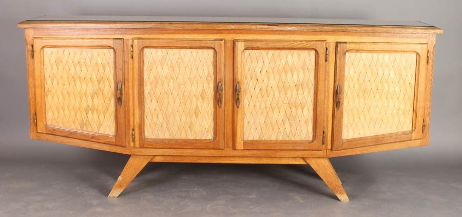 8: UNUSUAL FRENCH MID CENT MOD SIDEBOARD