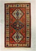 502 SEMI ANTIQUE TRIBAL STYLE RUG 4 X 8