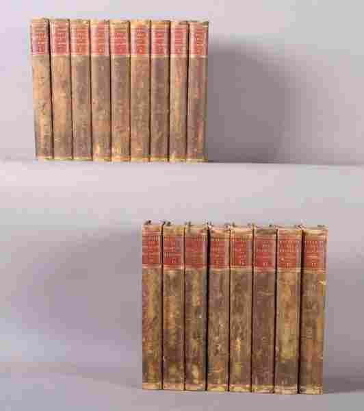 ANTIQUE SET BOOKS HISTORY OF THE FRENCH 17 VOLUME