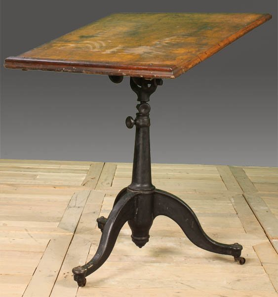 Antique Iron Drafting Table Wwwimgarcadecom Online