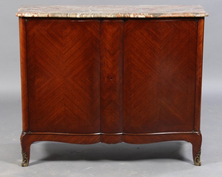 24: MARBLE TOP FRENCH SERVER
