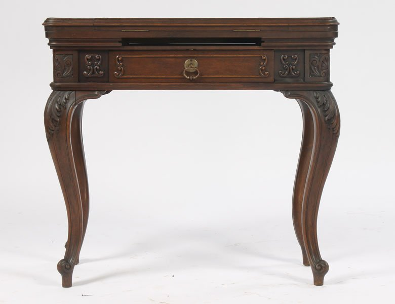 9: RARE ANTIQUE VICTORIAN MECHANICAL GAMES TABLE