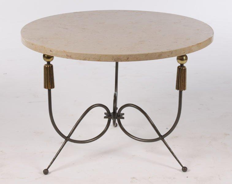 HOLLYWOOD REGENCY COFFEE TABLE G. POILLERAT