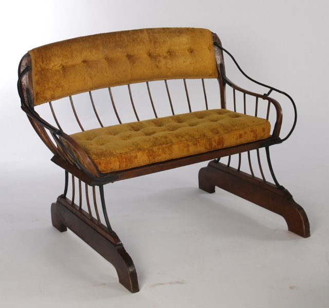 PR ANTIQUE HORSE CARRIAGE BENCHES - 4