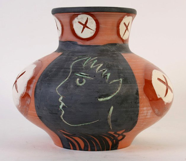 MADOURA LIMITED EDITION PICASSO CLAY POT C.1953