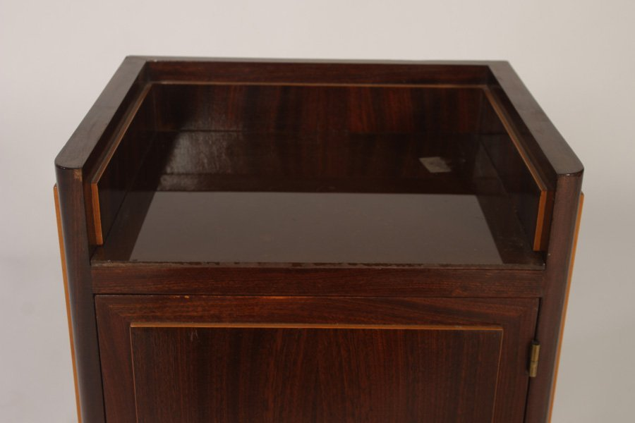 STYLISH PAIR OF FRENCH END TABLES CIRCA 1940 - 4