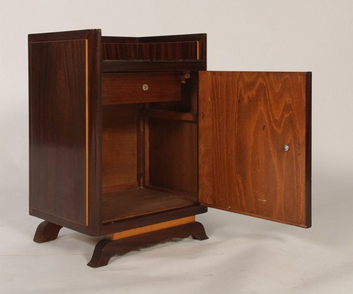 STYLISH PAIR OF FRENCH END TABLES CIRCA 1940 - 6