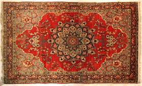 ROOM SIZE SEMI ANTIQUE PERSIAN STYLE ORIENTAL RUG