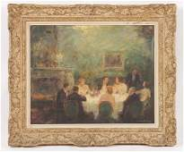 OTTO EDUARD VAN PIPPEL SIGNED OIL ON CANVAS