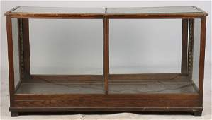 OAK STORE COUNTER DISPLAY CASE COUNTER C.1900