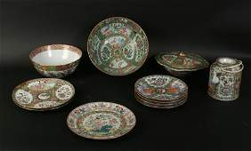 LOT OF 11 MID TO LATE 19TH C. CHINESE PORCELAIN