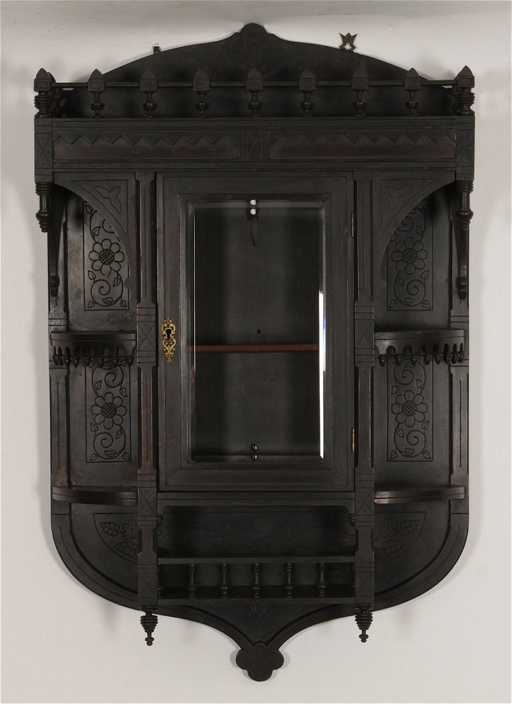 American Victorian Eastlake Wall Shelf Circa 1880