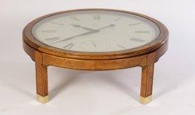 howard miller coffee table clock - coffee addicts