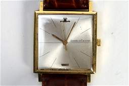 18K YELLOW GOLD GENTS JAEGER LECOULTRE WRISTWATCH