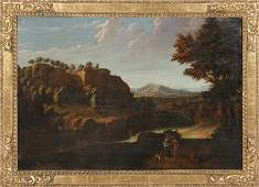 CONTINENTAL SCHOOL ANTIQUE OIL PAINTING CANVAS