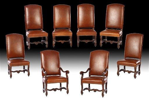 Swell Set 8 Ralph Lauren Henredon Leather Dining Chairs Creativecarmelina Interior Chair Design Creativecarmelinacom