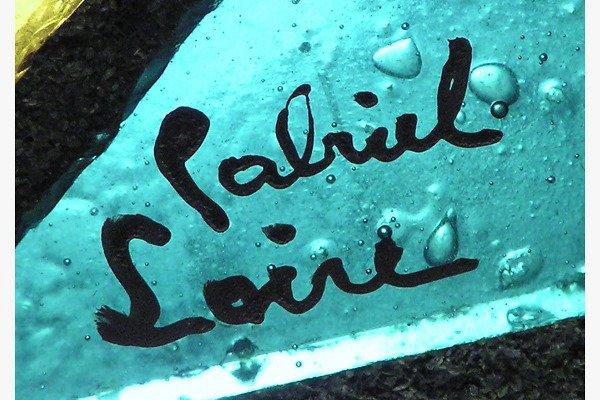 DALLE DE VERRE GLASS WINDOW PANELS BY GABRIEL LOIRE  - 2