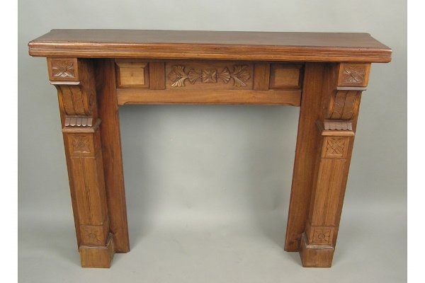 Eastlake American Victorian Fireplace Mantel Mantle