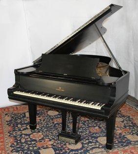 Steinway Ebony Model B Piano Circa 1886