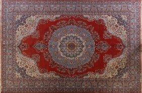 """Persian Tabriz Rug 8'9"""" X 12'10"""""""