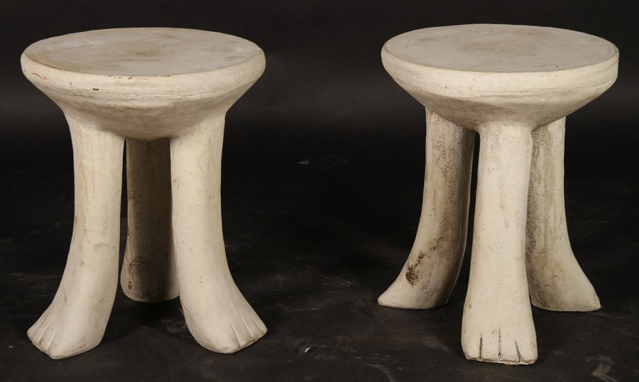 PR CAST STONE SIDE TABLES MANNER JOHN DICKINSON