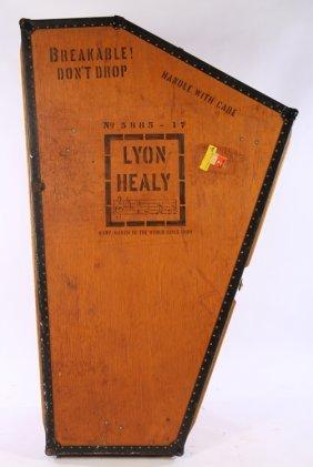 Lyon And Healy Harp Case Circa 1920