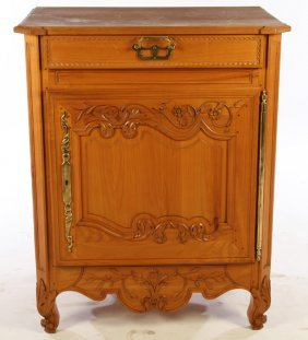 Small Cherry French Provincial Server