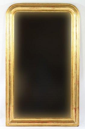 Louis Philippe Gold Gilt Mirror 1870
