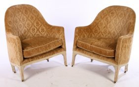 19th Century French Louis Xvi Bergere Chairs