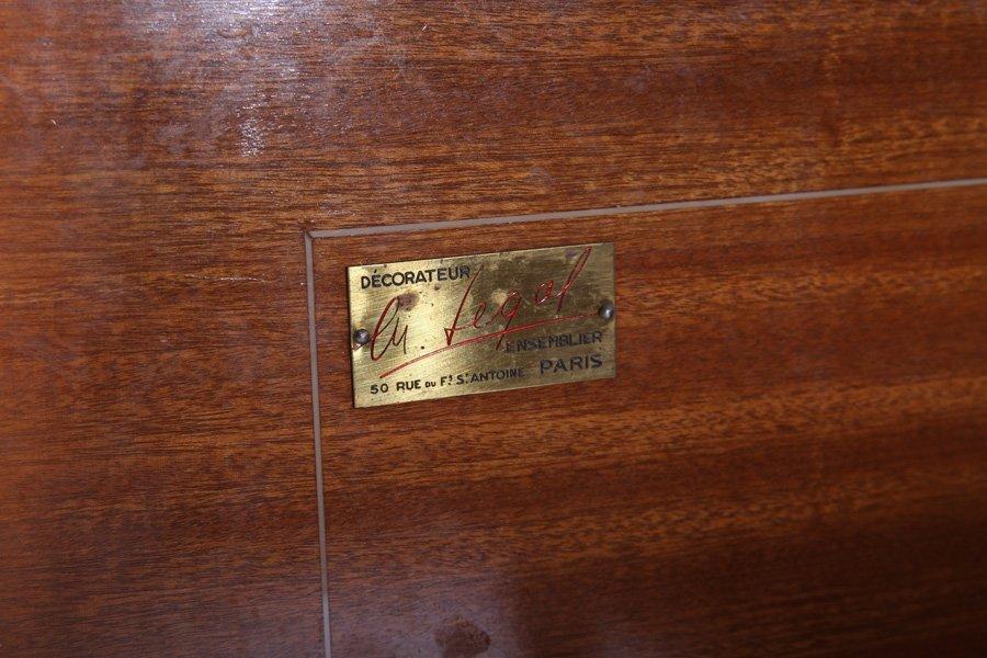 LELEU STYLE FRENCH ROSEWOOD SIDEBOARD 1950 - 7