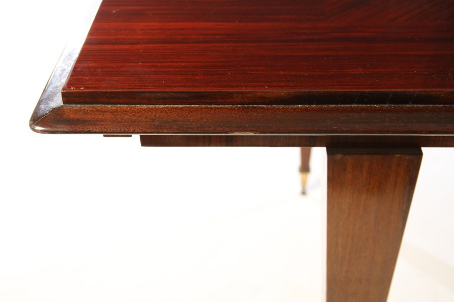FRENCH MACASSAR PARQUETRY DINING TABLE  1940 - 4