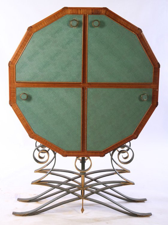 FRENCH 12-SIDED BAR CABINET C.1940